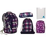 Satch Pack - Set 5 tlg. - Berry Carry - Schulrucksack + Sportbeutel + Penbox + Heftbox + Regenhülle