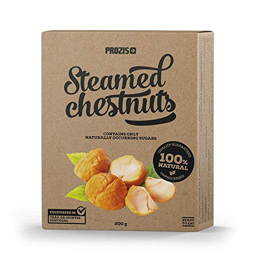 Prozis Steamed Chestnuts Natural 200 g