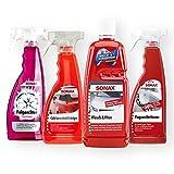 SOANX Auto Cabrio Pflege-Set 4-tlg Felgenreiniger Verdeckreiniger Wash&Wax