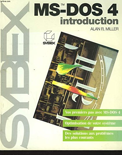 Introduction à Ms-Dos 4