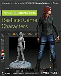 ZBrush Studio Projects: Realistic Game Characters by Ryan Kingslien (2011-03-15)