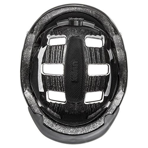 Uvex Fahrradhelm Hlmt 5 Bike Pro, Black Mat, 58-61, 4103030719 - 3