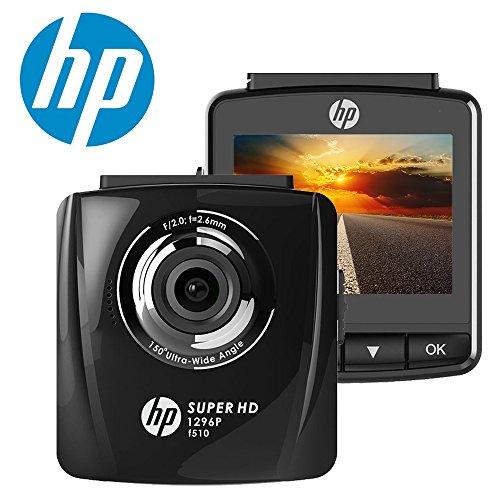 HP Super HD 1296P de voiture Dash Cam Camera DVR Digital Conduite Enregistreur vidéo haute définition 2304x 1296pixels Résolution Augmenté de 44% par Rapport aux 1080p