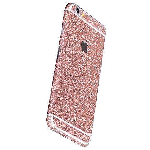 Forepin® Glitzer Bling Aufkleber Sticker für iphone 6/iPhone 6s (4.7 Zoll), Skin Handyfolie Schutzfolie Schutz Folie Slim