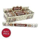 Tulasi Esoteric Range Incense Sticks Box of 6 packs (120 sticks) - Erotica