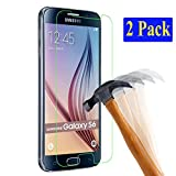 2x Samsung Galaxy S6 plt24 Ultra-Klar Glasfolie Panzerglas Schutzfolie Displayschutzglas