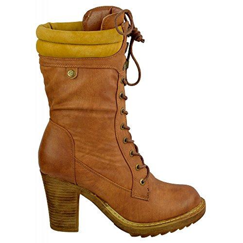 Kick Footwear Kick Footwear, Stivali donna Marrone (Tenné)