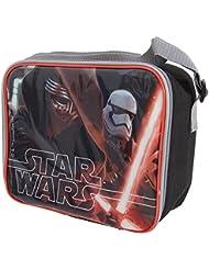 Disney Star Wars - Bolsa / fiambrera térmica de Disney Star Wars para niños (Talla Única/Rojo/Negro)