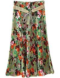37688ddab Amazon.es: faldas midi - Única / Mujer: Ropa