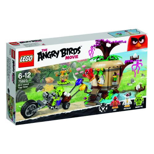 LEGO - 75823 - The Angry Birds Movie - Le Vol de L'œuf de L'île des Oiseaux