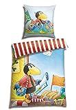 Rabe Socke Renforcé Bettwäsche Pirat, Größe:135 cm x 200 cm