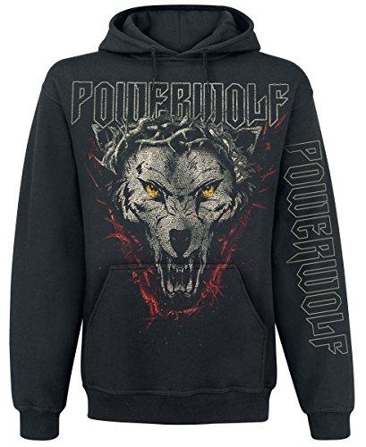 Powerwolf Metal Is Religion Felpa con cappuccio nero XL