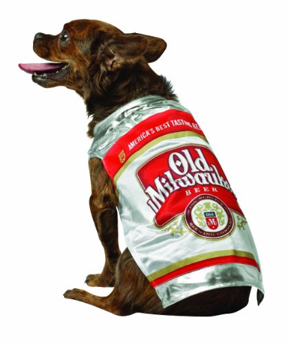 Rasta Imposta Old Milwaukee Bier kann Hund Kostüm, XS