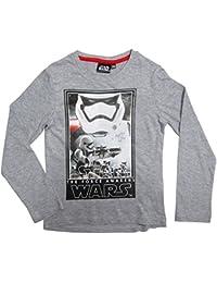 Star Wars Langarmshirt 104 110 116 122 128 134 140 146 Shirt Jungen Neu Pullover Yedi Meister Kollektion 2016 Yoda Yedi Master Grau-Blau