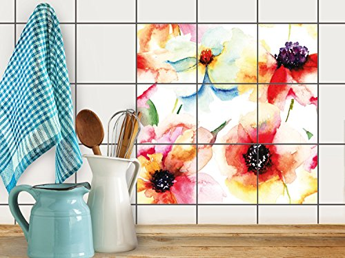 fliesenfolie-selbstklebend-20x20-cm-3x3-design-water-color-flowers-grafik-illustration-klebefolie-kc
