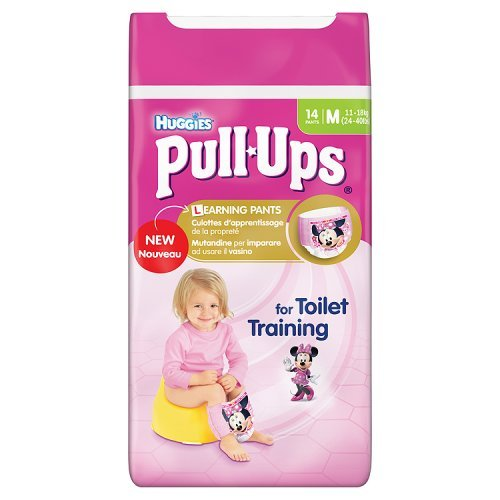 Huggies Girls Potty Training Pants Pull Ups 14 Pants