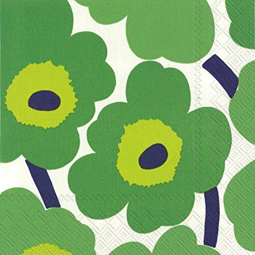 marimekko-finnish-designer-marimekko-unikko-green-luxury-traditional-paper-table-napkins-20-in-pack