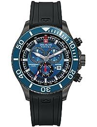 Swiss Military 6-4226.30.003 - Reloj de pulsera hombre, silicona, color negro