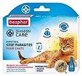 Beaphar - DiméthiCARE, pipettes stop parasites - chat - 6 pipettes