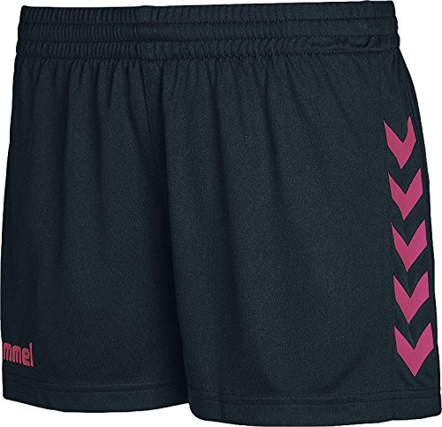 Hummel Damen Core Shorts, Rosa, M