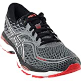 ASICS Men's Gel-Cumulus 19 Running Shoe, Black/Carbon/Red, 12 D(M) US