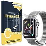 UniqueMe [6 Pezzi] Pellicola Protettiva per Apple Watch 42mm Series 1/2/3, [Caso Amichevole] [Film Flessibile] Soft HD Clear TPU Film, Anti-Scratch