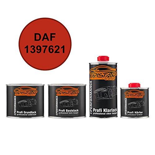 TRISTARcolor Autolack Set Dose spritzfertig DAF 1397621 Rood Grundlack + Basislack + 2K Klarlack 1,75L