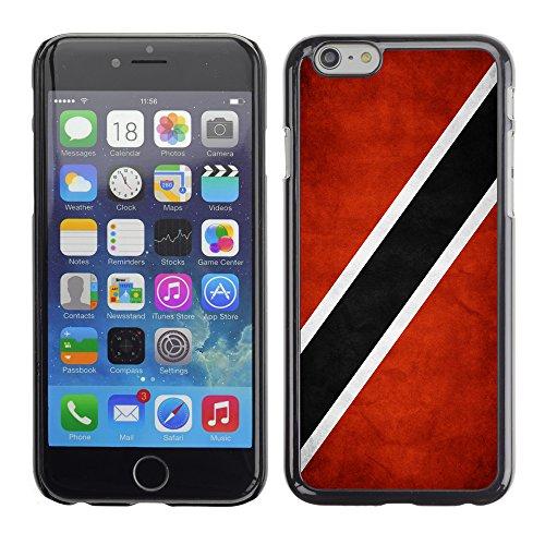 Graphic4You Vintage Uralt Flagge Von Barbados Design Harte Hülle Case Tasche Schutzhülle für Apple iPhone 6 / 6S Trinidad