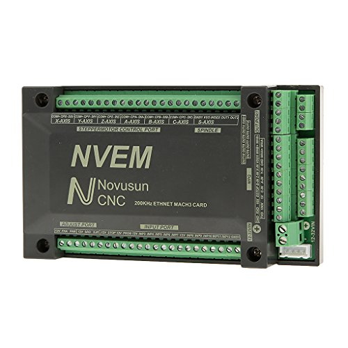 Almencla 1 Stücke CNC 6 Achsen Mach3 Breakout Interface Board Motion Controller Card Board -