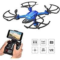 Potensic® F181WH fonction de maintenir l'altitude 2.4GHz 4CH 6-Axis Gyro RC Quadcopter Drone avec 2 mégapixels caméra HD, 360 degrés Eversion Fonction