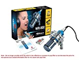 Wright WR 800 Condenser Microphone For Voice Recording And Singing Compatible Microphone