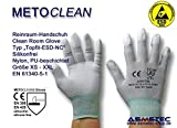 Reinraum-Handschuh Topfit ESD-NC, Größe L