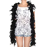 from Feather boas Feather boa - black - great for hen and stag nights by Feather boas Model 38301SMF-BK-B