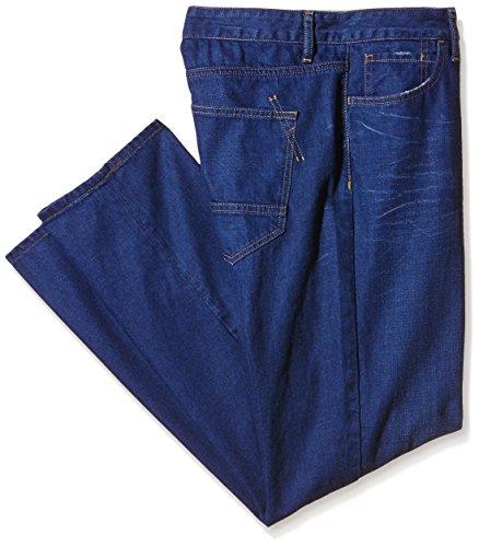 Benetton Regular - azul Hombre, Azul, W27/L31 (Talla del fabricante: 28)
