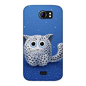 100190 Ajay Enterprises Extant Cute Cat Back Case Cover for Micromax Canvas 2 A110