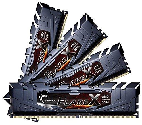 G.Skill 64GB DDR4-2400 módulo de - Memoria (64 GB, 4 x 16 GB, DDR4, 2400 MHz, 288-pin DIMM)