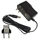 HQRP Ladegerät/Netzadapter für Vtech E-Book Intelligenz/Laptop/Multimedia-Lernsystem/Lerntablet + HQRP Euro Stecker Adapter