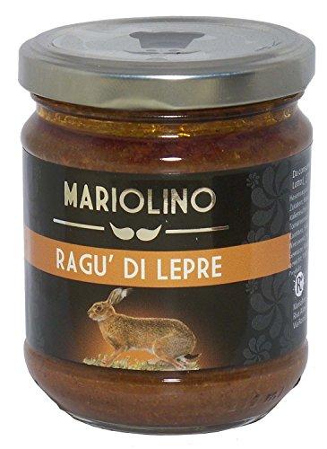 Ragù di Lepre 212 ml. - Mariolini Sughi