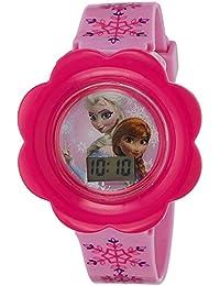 Disney Digital Multi-Colour Dial Girl's Watch - DW100476