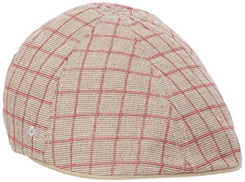Kangol Pattern Flexfit Cap Boina, Beige (Houndstooth Check), S/M para Hombre