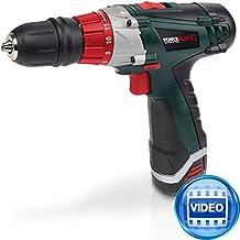 Varo POWXQ5243 - Destornillador a batería (12 V, 30 Nm, incluye 2 baterías)