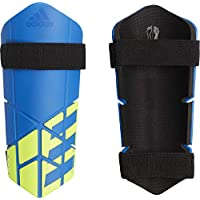 Adidas X Lite Espinilleras, Unisex Adulto, Azul/Negro (Amasol), L
