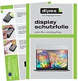 dipos I 2X Schutzfolie matt passend für Dell XPS 13 (9360) Folie Bildschirmschutzfolie