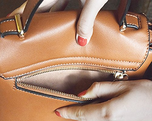 Sacchetto femminile borsa femminile casuale femminile della borsa della borsa idiopatica retro della spalla ( Colore : Nero ) Nero