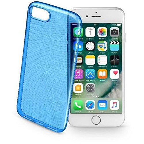 Cellularline Color Case - iPhone 7 Custodie colorate e ultrasottili Verde BLU