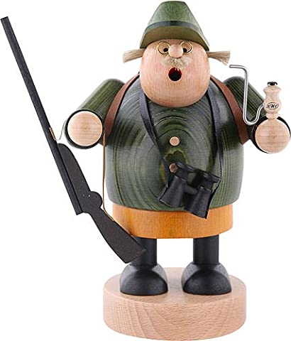 German Incense Smoker Hunter - 19 cm / 7 inch - Authentic German Erzgebirge Smokers - KWO