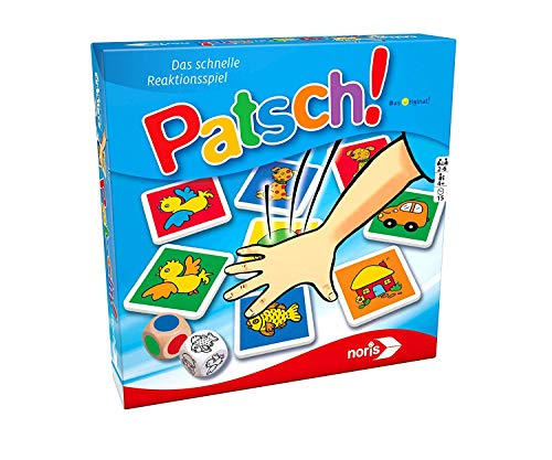 Noris 606013612 606013612-Patsch, Kinderspiel