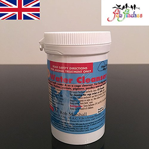 rob-marshall-kd-powder-400g-multipurpose-kd-drinkers-water-cleanser-aviary-cage-birds