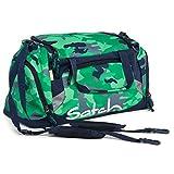 Satch Sporttasche Green Camou 9D8 grün grau camouflage