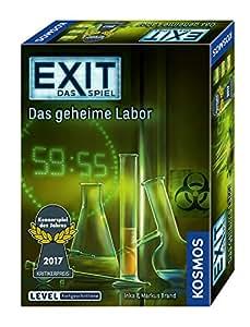 KOSMOS Spiele 692742 - Exit - Das Spiel, Das geheime Labor, Kennerspiel des Jahres 2017